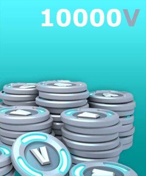 10000 V-Bucks + 3500 PC