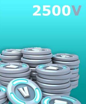 2500 V-Bucks + 300 PC