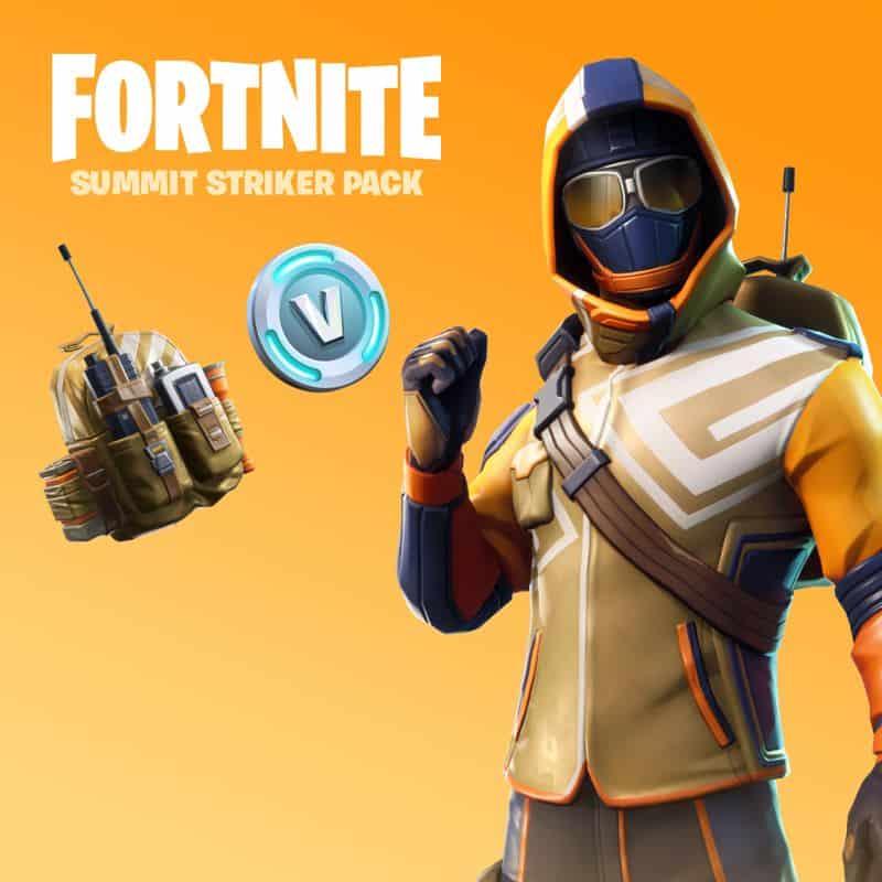 Fortnite Summit Striker Starter Pack 4 - PC