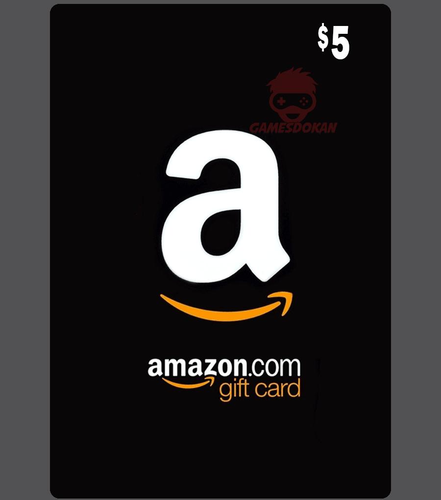 USD5 Amazon Gift Card (US)