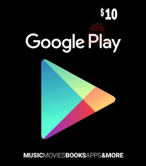 USD10 Google Play Gift Card (US)